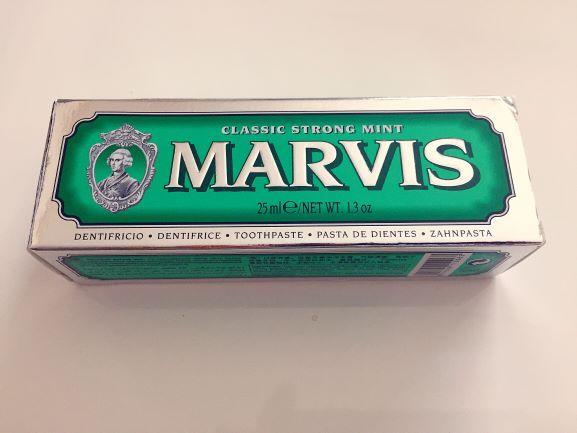イタリア土産のマービス