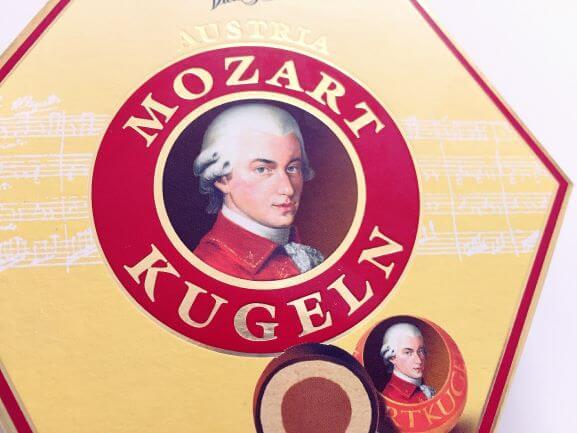 オーストリア土産のモーツァルトクーゲル