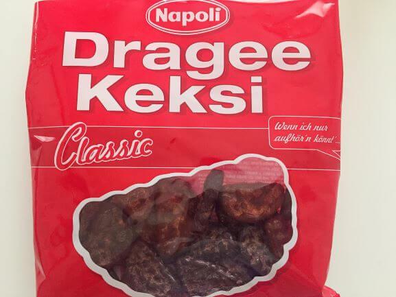 オーストリア土産のドラジェ・ケクシ