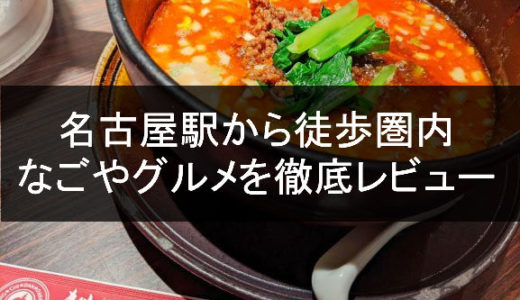 【どえりゃーうまい】名古屋駅から歩いて行けるなごやグルメ【愛知】