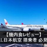 JAL日本航空の機内食レビューのアイコン