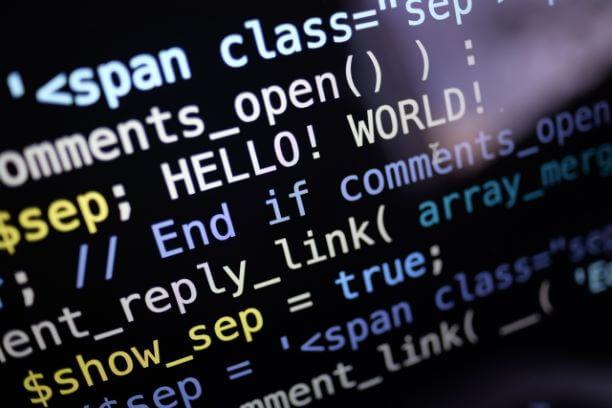 プログラミングのソースコード