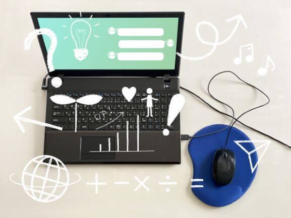 パソコンで勉強