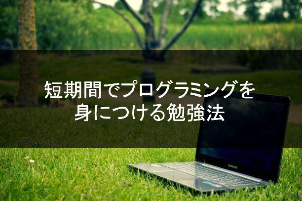 プロが教える!短期間でプログラミングを身につける勉強法のアイコン画像